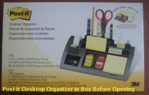 Post-it Desktop Organizer Box