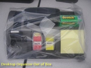 Desk Organizer out of box