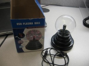 Package Contents USB Plasma Ball