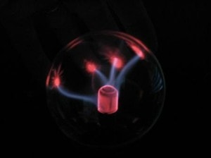 USB Plasma Ball Beams Follow Fingers