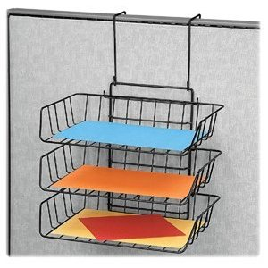 Fellowes 75310 Wire Partition Additions Triple Tray