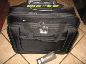 Rolling Laptop Case - Out of Box
