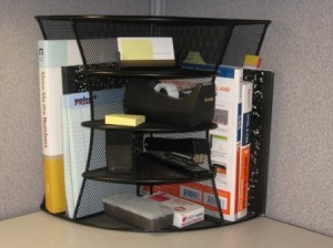 Safco Corner Shelf Unit