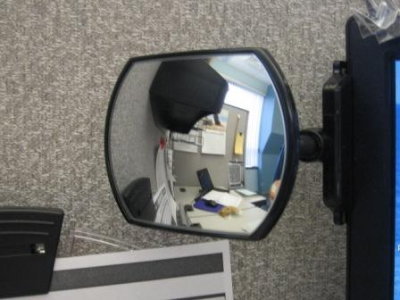 Desk Rear View Mirror