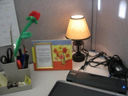 cubicle lighting. office lighting ideas in nearby cubicles click on any image for larger view cubicle l