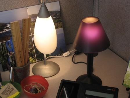 cubicle lighting. office lighting ideas in nearby cubicles click on any image for larger view cubicle c