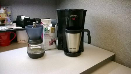 Office Coffee Maker Instructions : Jump Start your Workday with a Manual Burr Coffee Grinder - CubicleBliss.com
