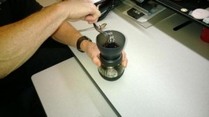 Grinding the Beans