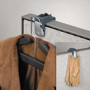 Fellowes Partition Additions Coat Hook and Clip