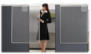 Cubicle Privacy Screen