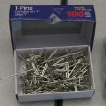 Tips – T-Pins Rock for Hanging Anything in a Cubicle