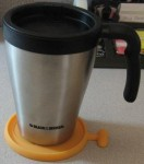Black and Decker Mug with Coaster