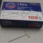 T-Pins Rock for Hanging Anything in a Cubicle