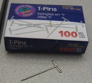 T-Pin Box and T-Pin