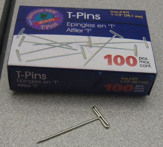 Tips T Pins Rock For Hanging Anything In A Cubicle