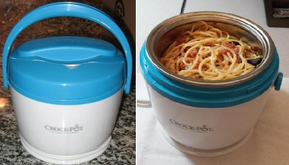 Crock-Pot Food Warmer, a great alternative to the company microwave!