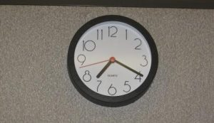 Cubicle Clock
