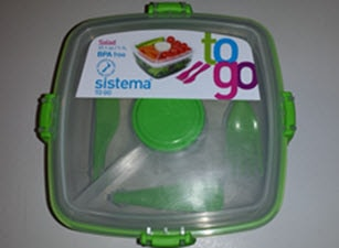 Sistema Salad To Go Container