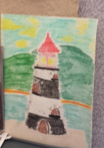 Lighthouse created by my daughter