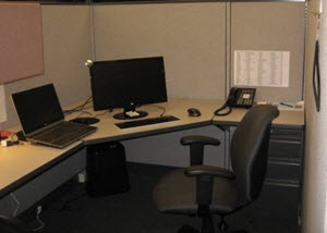 Generic Office Cubicle