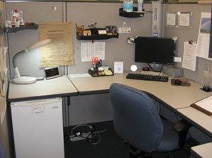 Creatively Customized Cubicle