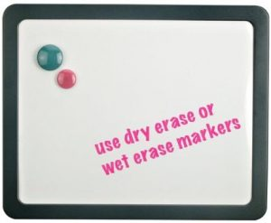 Officemate Verticalmate Magnetic Dry Erase Board
