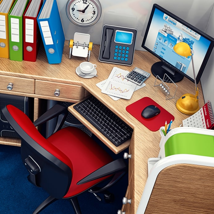 Spring cleaning tips for the office