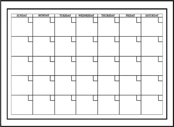 A Dry Erase Calendar From Wall Pops Is Perfect For Your