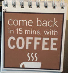 Come Back with Coffee