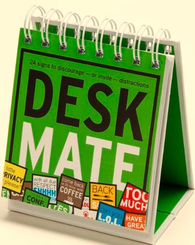 Deskmate Visual Office Indicator Gets Right To The Point