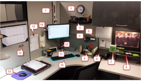 Cubicle Accessories Feature