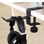 A Headphone Hanger will help Organize your Work Space