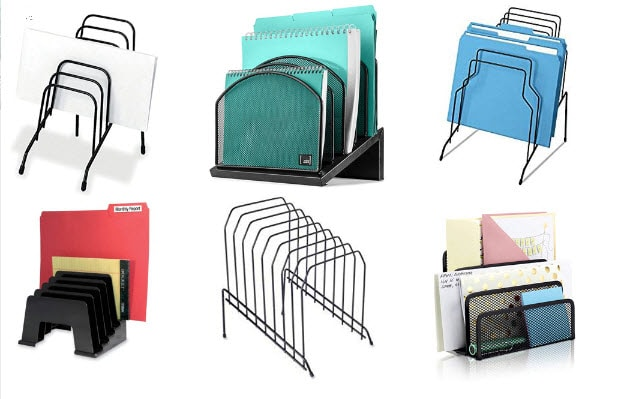 Inclined File Folder Organizers