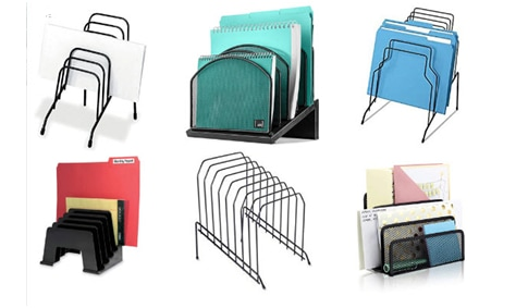 Inclined File Organizer