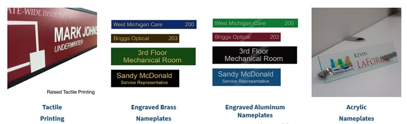 Display your Name Proudly with Naptags Nameplates