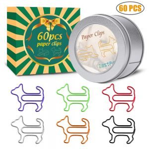 Dog Shape Paper Clips