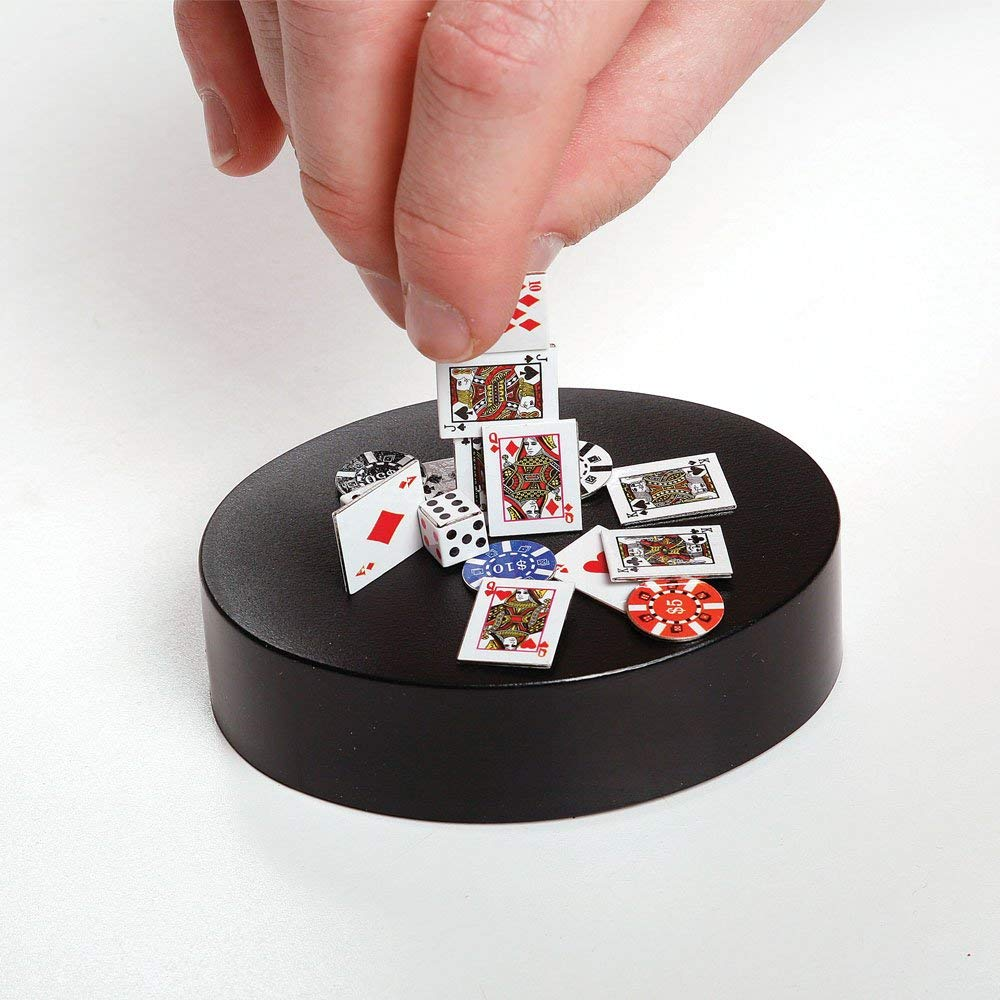 Launch Innovative Products Magnetic Poker Sculpture Desk Toy