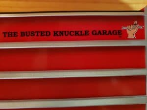 The Busted Knuckle Garage trademark