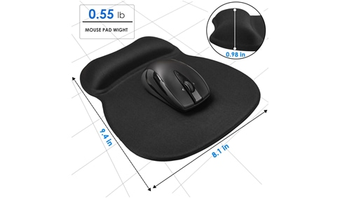 Ergonomic Gel Mouse Pad