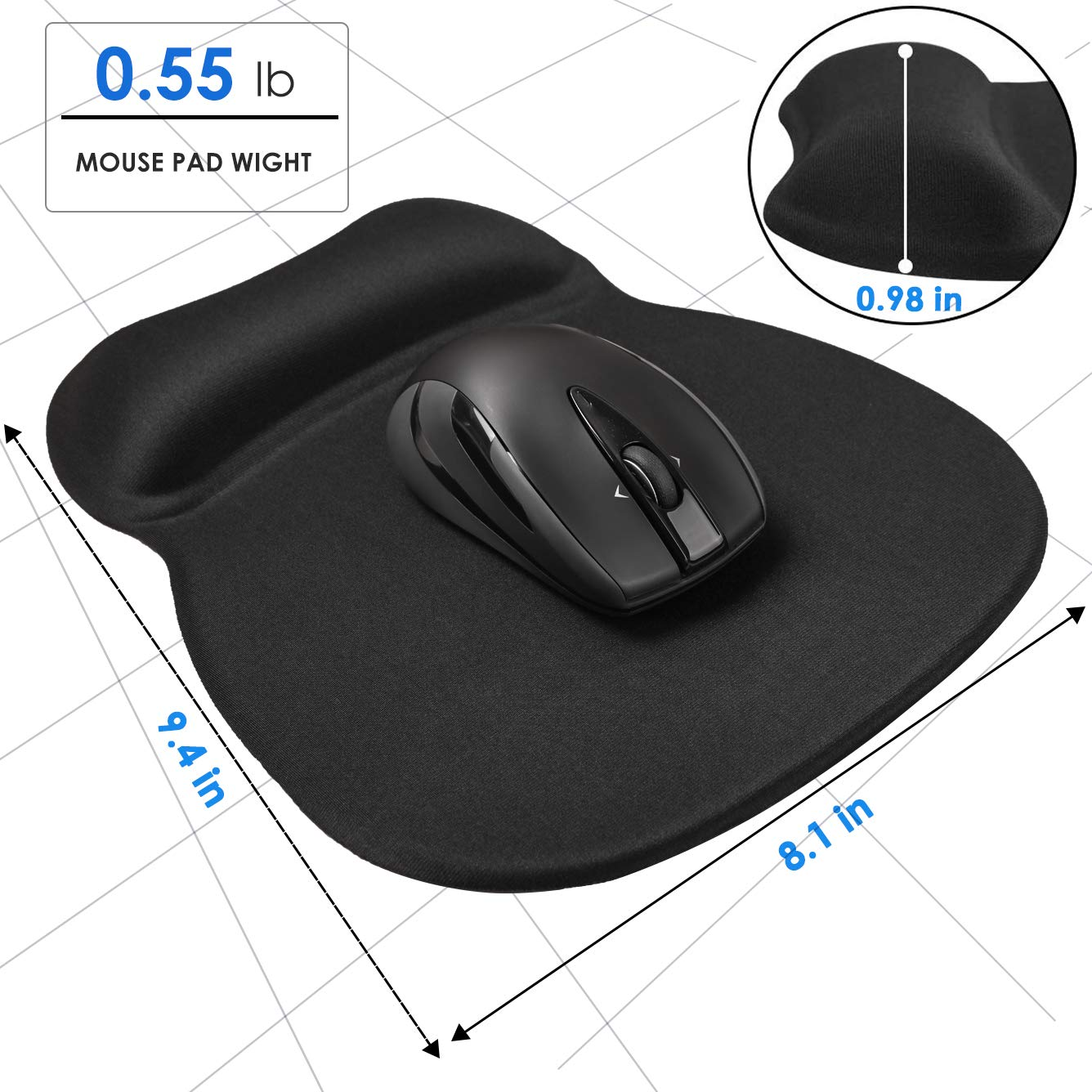 A MROCO Gel Mouse Pad will Save your Wrists