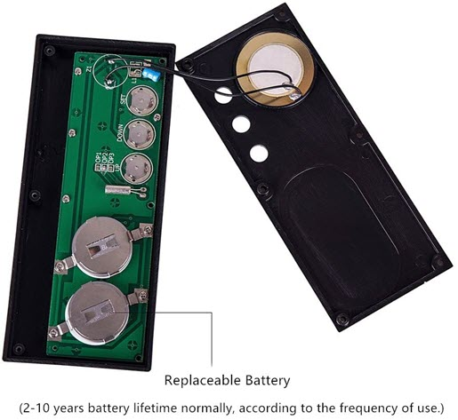 Countdown Timer Replaceable Battery