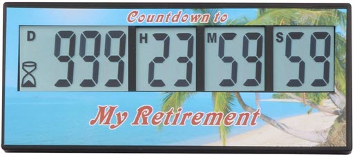 Countdown Timer Retirement 1