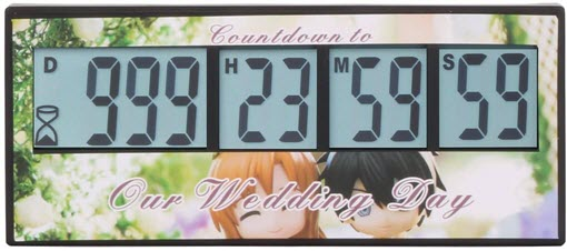 Countdown Timer Wedding Day 2